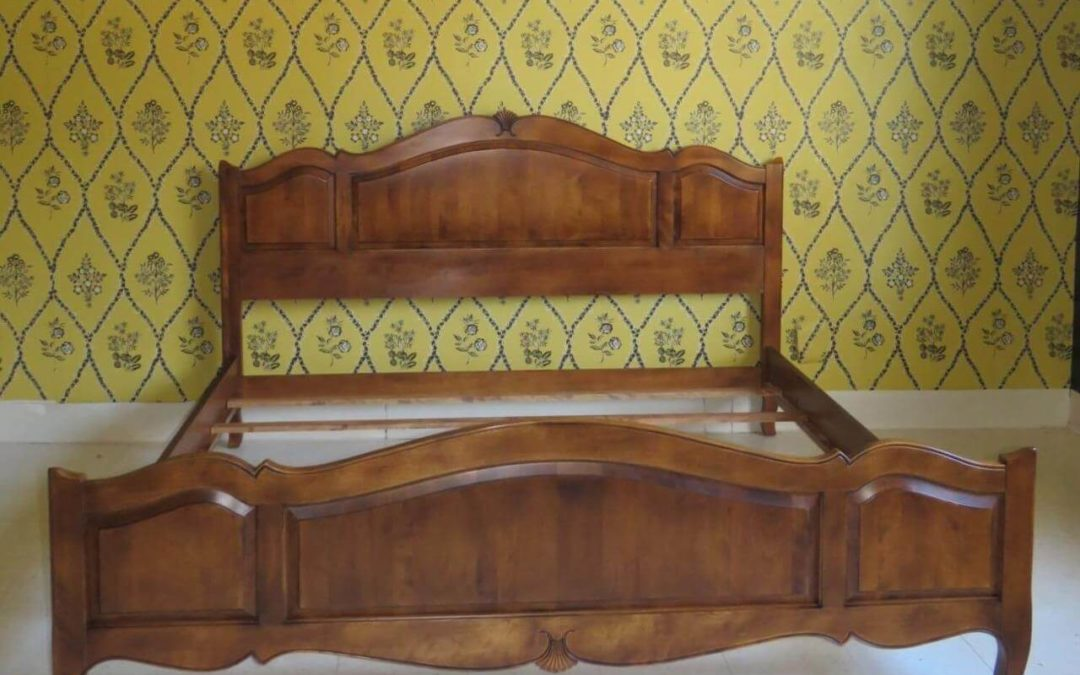 Country French King Bed Just Arrived